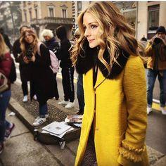 """68 Likes, 1 Comments - The Olivia Palermo Lookbook (@olivia.palermo.lookbook) on Instagram: """"Good morning from Milan ! #oliviapalermo #mfw17 #maxmara"""""""