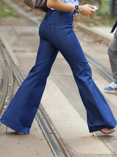 art of wore - blog - WANT: High-waist, wide-leg jeans