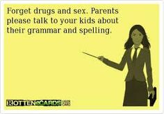 I find it ironic that in post about grammar they forget the comma after parents.
