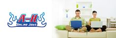 A-H Online Jobs offers Data Entry Jobs , Ad Posting Jobs , Home based jobs , Copy Paste Jobs in Pakistan  www.ahonlinejobs.com   Great Online jobs