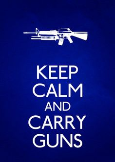 For my gun toting, all American husband, of course!