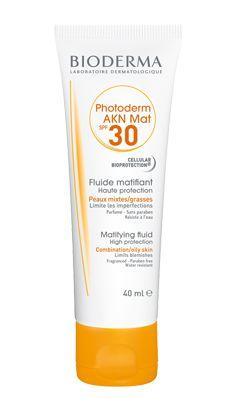 Crema solar pieles mixtas, grasas, acné - Índice 30 - Protección sol Bioderma Alguien lo usa??