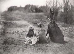 sally mann - took a picture of me and my only friends :)