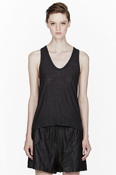 T by Alexander Wang Racerback Tank Top