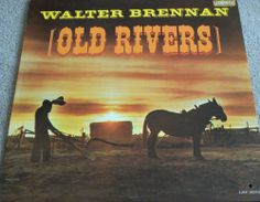 """Walter Brennan / Old Rivers / Vintage 12"""" Vinyl LP Record / Liberty LRP-3233 #Early #Country #Music #Album"""