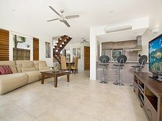 Set in tropical surrounds with direct beach access this amazing property has much to offer. With timber bi-fold doors throughout this 3 bedroom villa boasts it's own outdoor entertaining area within a fenced private yard...  http://www.homeaway.com.au/holiday-rental/p404707189 #homeawayau #australia