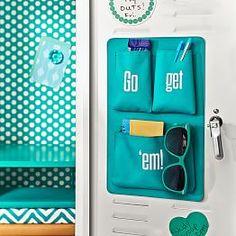 Locker Accessories, Locker Shelves & Locker Decorations | PBteen Locker Shelves, Diy Locker, Locker Stuff, Locker Supplies, Diy School Supplies, Cute Locker Ideas, Locker Essentials, School Locker Decorations, Middle School Lockers