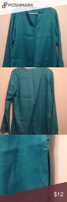 Ralph Lauren Shirt Aqua Blue Size Medium Casual Ralph Lauren Shirt  Size M Color: Aqua Blue Ralph Lauren Tops