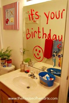 20 FANTASTIC ideas to celebrate your loved one's birthday. They will DEFINITELY feel special after doing these 20 ideas