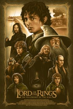 BROTHERTEDD.COM - pixalry: The Lord of the Rings - Created by Adam... Fellowship Of The Ring, Lord Of The Rings, Walt Disney Pictures, Top Movies, Looking Forward To Seeing, Lotr, Saga, Movie Posters, Animation Movies