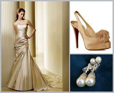 Old Hollywood Glamour Wedding Inspiration Board ~ Houston Wedding Blog