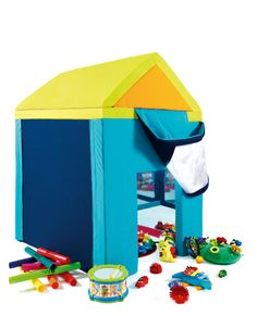 Wendy House -  From our range of sensory equipment that look to develop expression, interaction, play and social skills. It also provides encouragement for young children to crawl under, climb over, ride, carry and cuddle. www.blossomforchildren.co.uk