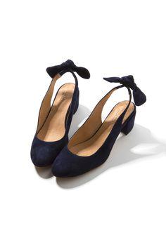Ballerines Odette marine - Chaussures - Collection éphémère - La collection