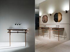 Antonio Lupi ILBAGNO collection: classic lines in a modern style