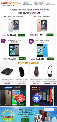 Irresistible deal in a mobile phone shop
