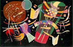 Wassily Kandinsky - Zusammensetzung X