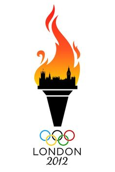 London's Burning 2012 Olympic Games Logo. Too soon?