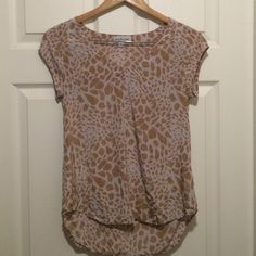 Anthropologie Blouse Cute and light animal print blouse by Bayla Jane for Anthropologie Bayla Jane Tops Blouses