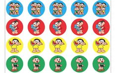 Cupcake Toppers, Cute Easy Drawings, Crafts For Kids, Alice, Cartoon, Birthday, Pattern, Kids Part, Construction Cakes