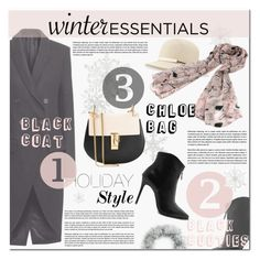 """What Are Your Winter Essentials?"" by vanjazivadinovic ❤ liked on Polyvore featuring Caspari, rag & bone, Chloé, polyvoreeditorial, winteressentials and zaful"