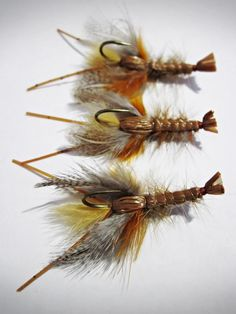 FlyTyingForum.com - Mini 'Dad. For more fly fishing info follow and subscribe www.theflyreelguide.com Also check out the original pinners/creators site and support