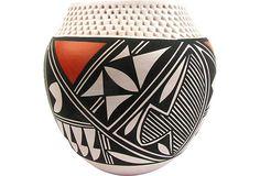 Sculptural Acoma Seed Jar