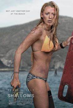 ★★★☆ - The Shallows (2016) An injured surfer stranded on a buoy needs to get back to shore, but the great white shark stalking her might have other ideas.