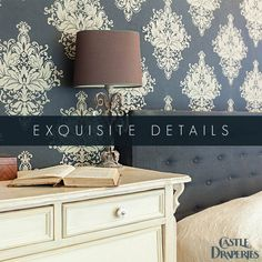 Upgrade your walls with some eye-catching wallpaper. Check out all the different luxurious styles that we have to offer.