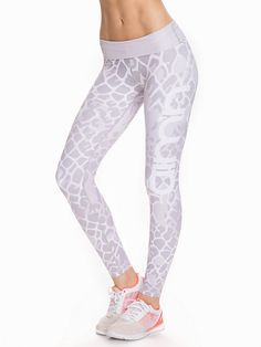 Snake High Waist Tights - Aim'n - Patterned - Tights - Sports Fashion - Women - Nelly.com