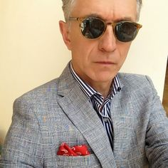 b23ecbebd9 Grey Fox  Oliver Peoples sunglasses and frames - classic styles and high  quality Grey Hair