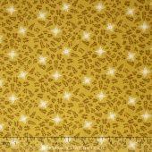 House of Hoppington - Calico Toss Gold Yardage