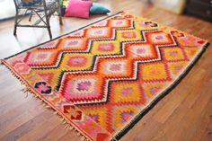 FREE SHIPPING Turkish kilim .Anatolian - Rug Carpet.- handwoven kilim rug - antique kilim rug - decorative kilim - natural wool on Etsy, $670.00