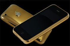 Stuart Hughes designed iPhone 5s costs around 18 lakh and is fully coated with 18 carat gold on the panel and diamond embedded around the apple logo makes this phone one of the most expensive.
