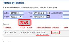 Here is my Withdrawal Proof from AdClickXpress No.69! Doesn't matter if you have had experience with money-making programs - because this one is so simple. There is NOTHING like it in the world! I get paid daily and i can withdraw daily!NO SCAM HERE! I love making money online with AdClickXpress! If you want to actually earn money working from home,ACX is the best online opportunity for you! Online income is possible with ACX! http://www.adclickxpress.com/?r=Lidija84&p=mx