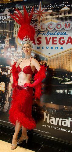 Showgirl Harrah's, Las Vegas