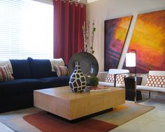 1000 images about oddly shaped living rooms on pinterest - How to decorate odd shaped living room ...