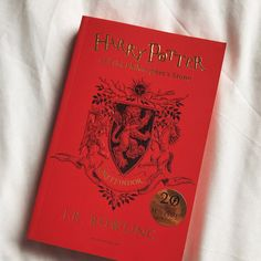 BOOK GIVEAWAY Celebrating 20 years of Harry Potter Magic ~ Harry Potter and the Philosophers Stone Gryffindor house edition~ I will be giving this away to one lucky winner who will be chosen…