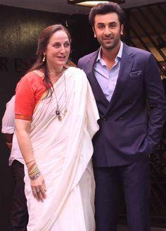 Sanjana Kapoor and Ranbir Kapoor