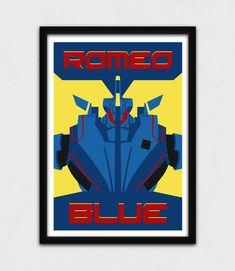 Pacific Rim  Romeo Blue Poster  Jaeger by JohnTakacsDesign on Etsy https://www.etsy.com/listing/224678746/pacific-rim-romeo-blue-poster-jaeger