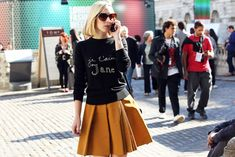 Jane Keltner de Valle - Fashion News Editor - Teen Vogue - Style Icon In The Making