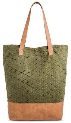 Merona® Women s Tote Handbag Green - MeronaTM 88c70834b8933