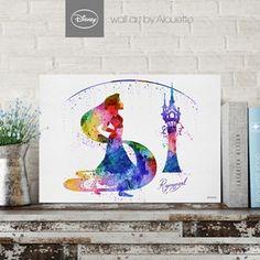 Princess Rapunzel Disney Wall Art - Poster Α3