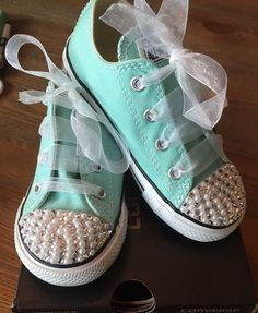 Hey, I found this really awesome Etsy listing at https://www.etsy.com/listing/211160567/kidstoddler-converse-bling-with-crystals