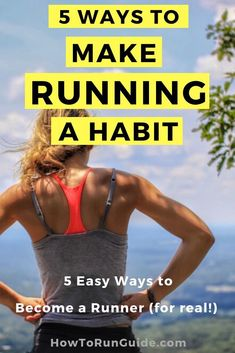 Make running a habit for Everything you need to crush your goals! Cardio Workout Plan, Running Workouts, Running Tips, Easy Workouts, Group Fitness, Wellness Fitness, Health And Fitness Tips, How To Start Running, How To Run Faster