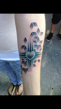Zia heart Tattoo