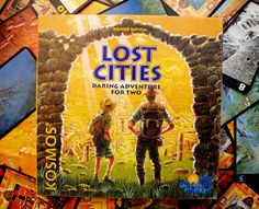 Lost Cities sends you on up to five different expeditions. The key is balancing the risk of starting a new mission versus the reward it might offer. Every time you start a mission you're on the hook for a minimum of twenty points. Can you you make Lost Cities? Or will you have to pay the price.