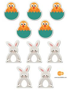 Free Easter Tic Tac Toe Printable by CHILDish