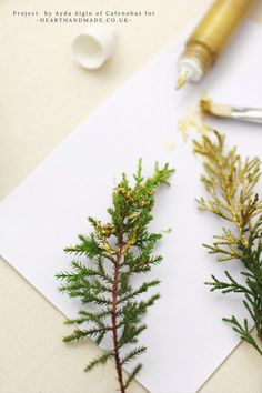 You will not believe what these turn into!! Lovin this tutorial. They are crazy easy & cheap to boot. An excellent way to add a little extra glam to your day!http://www.hearthandmade.co.uk/diy-christmas-napkin-rings/
