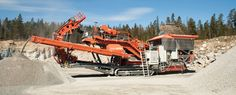 Sandvik UH450E crush