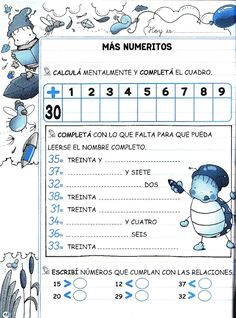Math Class, Kindergarten Math, Math Coloring Worksheets, Math Exercises, Maila, Teaching Materials, Math Centers, Activities For Kids, Acting